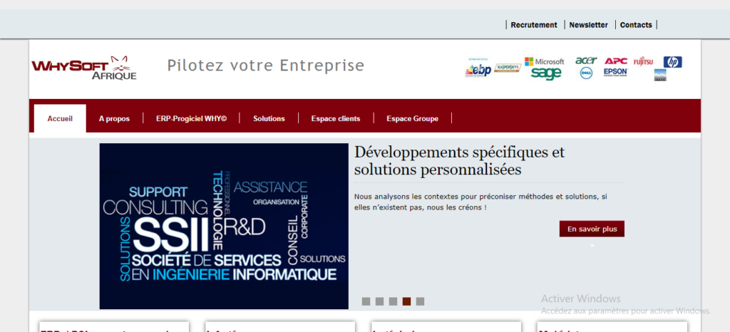 WHYSOFT Afrique est un des meilleurs éditeurs et intégrateurs ERP en Côte d'Ivoire